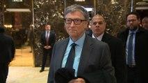 Bill Gates rencontre Donald Trump