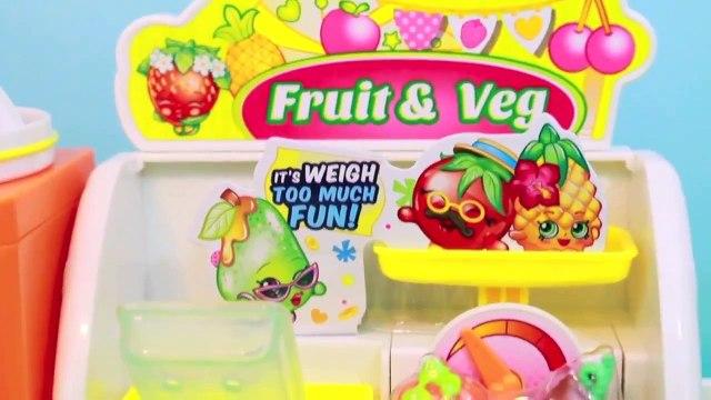 Frozen ELSA Go Shopping Shopkins Fruit and Veg Stand Shopkins Peppa Pig