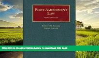 Best Price Kathleen Sullivan First Amendment Law, 4th (University Casebooks) (University Casebook