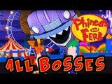 Phineas and Ferb: Day of Doofenshmirtz All Bosses | Final Boss (VITA)