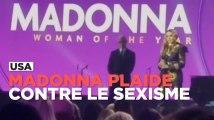 Madonna raconte son viol dans un poignant discours féministe