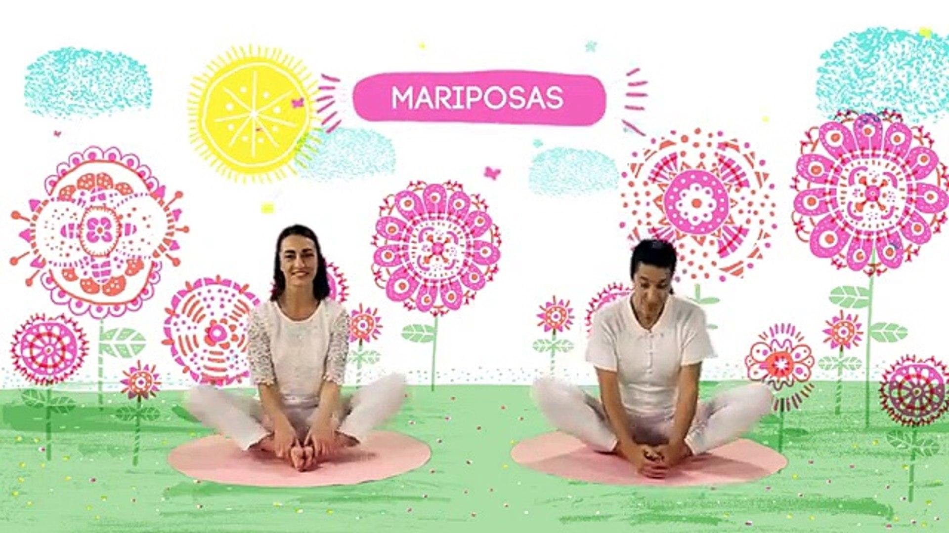 Yogic Yoga Para Ninos Capsula El Cuento De Las Mariposas Juegos Y Canciones Infantiles Dailymotion Video