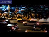Police Car chase BEST Burnouts Drifts Cruisin OC Events