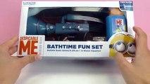 Canon à eau les Minions - Je suis simplement incorrigible avec le pistolet à eau Bathtime Fun Set