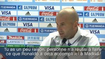 Foot - Ballon d'Or - RM : Zidane «Ronaldo peut en gagner d'autres»