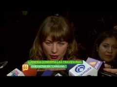 Ludwika Paleta confirma las travesuras que hacian en Carruse