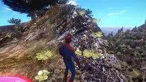 Spiderman, Batman, Elsa reine des neiges & Flash McQueen Disney Cars 2 | Dessin animé Francais