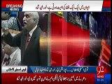 Khursheed Shah's reply to Khawaja Saad Raffique for interrupting him during speech