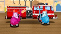 The Tow Truck's Car Service: Emergency Vehicles Cartoons | Truck cartoons for kids
