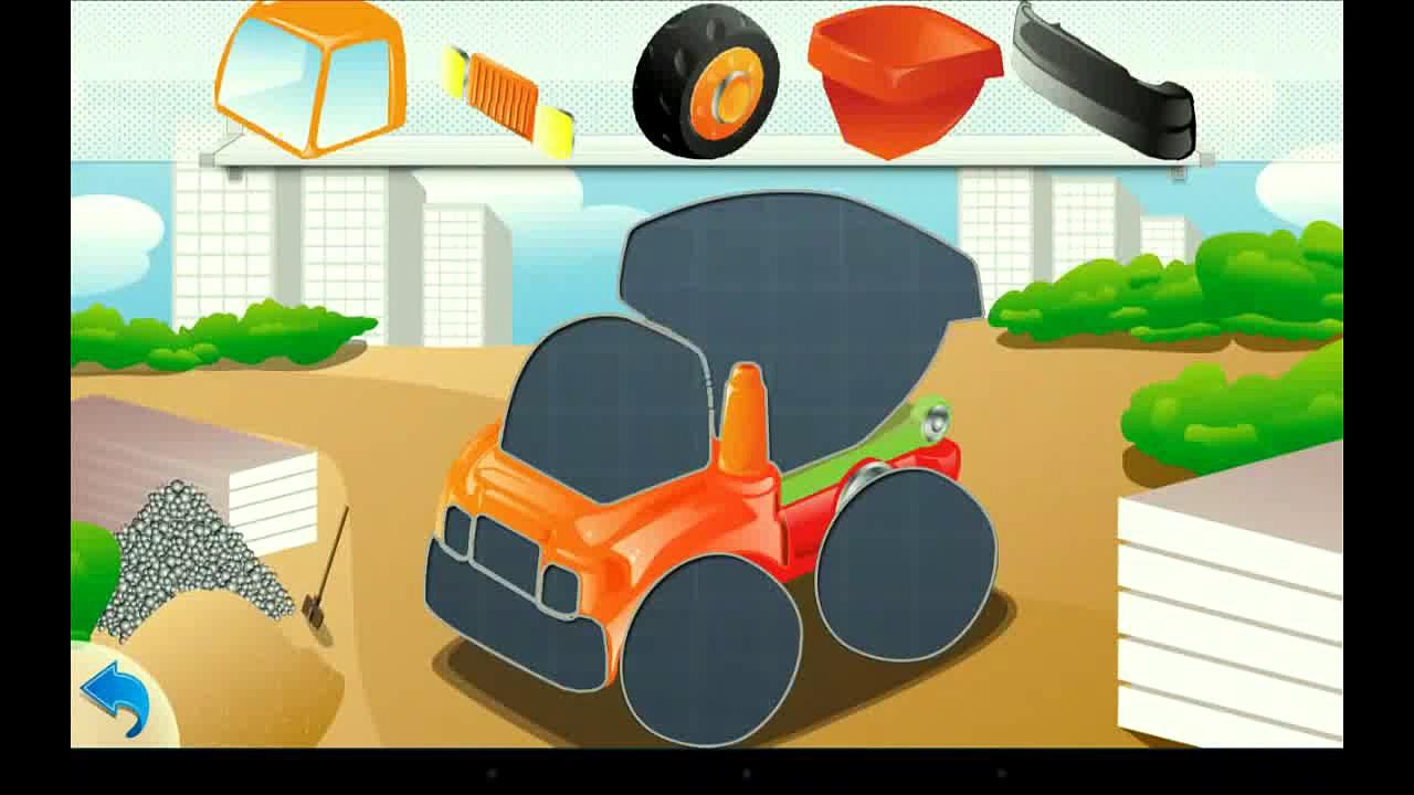 Cars. Teach parts of cars