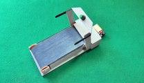 كيف تصنع جهاز الجري - المشي الثابت الكهربائي