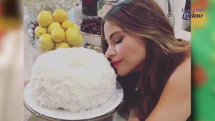 Sofía Vergara y Su Obsesión Por Torta