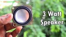 How to Make a USB Speaker at Home - DIY 2.0 Speaker