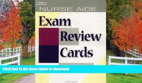 Read Book Nurse Aide Exam Review Cards CD Package (Test Preparation) Kindle eBooks