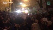 Des centaines de Parisiens rassemblés en soutien à Alep