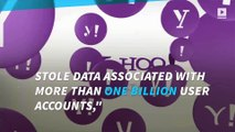 Yahoo says hackers stole data from more than one billion user accounts