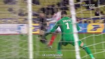 buts Monaco 7-0 Rennes résumé video coupe de la ligue 14-12-2016