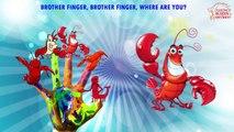 Lobstar Finger Family Nursery Rhymes | Animal Finger Family Songs Collection | Cartoon Kids Rhymes