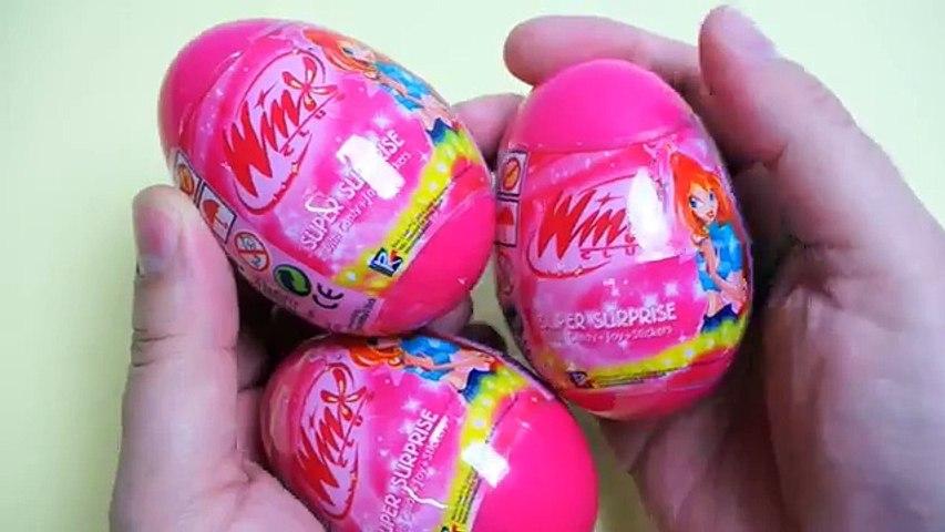 Surprise Eggs for Kinder Surprise Winx Club