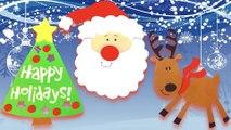 DIY How to Create Christmas Foam Magnets? #2 (Santa Claus, Reindeer & Christmas Tree)