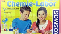 KOSMOS CHEM LAB C1000 Experiment Kit for Kids - Unboxing - 128 Experiments!
