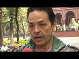 Alberto Vázquez sufre parálisis facial por un virus. Su hijo nos aclara su estado de salud.