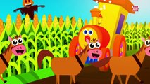 Ben The Train - Ben Goes To MacDonalds Farm | Old MacDonald Had A Farm | Nursery Rhymes For Kids