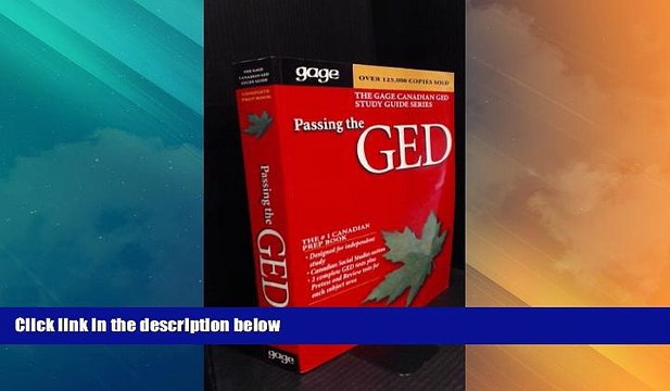 Gage Canadian Ged Science
