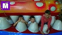 ВЛОГ детский развлекательный центр Макс и Катя 15.12.2016 и встреча с подписчиками Sky Park kid's indoo