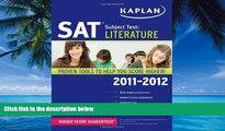 Online Kaplan Kaplan SAT Subject Test Literature 2011-2012 (Kaplan SAT Subject Tests: Literature)