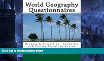 Read Online Kenneth Ma World Geography Questionnaires: Oceania   Antarctica - Countries and