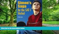 Pre Order Simon s Saga for the New SAT Verbal Philip Geer On CD