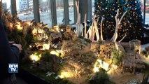 Cette crèche de Noël géante crée la polémique à Lyon