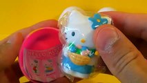 3 HELLO KITTY surprise eggs HELLO KITTY Hello Kitty Hello KITTY 킨더 서프라이즈