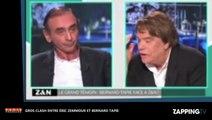 Éric Zemmour : Bernard Tapie le menace sur Paris Première, énorme clash (déo)