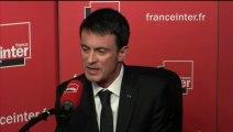 Manuel Valls répond aux questions des auditeurs de France Inter