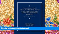 Pre Order Federal Courts: Cases and Materials on Judicial Federalism and the Lawyering Process