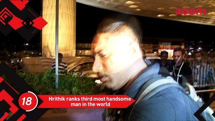 Hrithik Bags The 3rd Sexiest Man In The World, Aditya Chopra And Rani Mukherjee Spotted After A Party