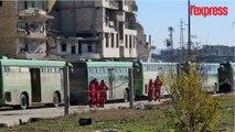 Alep: l'évacuation des rebelles commence, la bataille touche à sa fin
