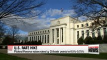 Federal Reserve raises interest rates by 0.25%, first increase in 2016