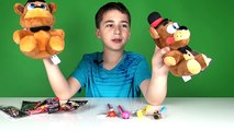 Five Nights At Freddys Toy Freddy Plush, Mymojis, Pens, Dog Tag and Keychains