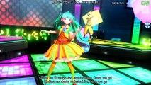 [60fps Full] shake it! シェイクイット! - Hatsune Miku Rin Len 初音ミ�