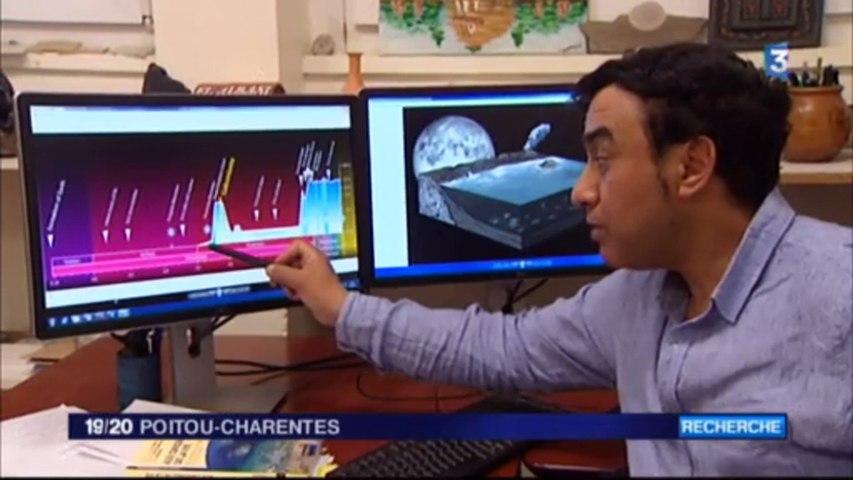 Reportage France 3 Poitou-Charentes sur les recherches menées par l'équipe du Pr. A. El Albani
