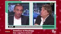 """Bernard Tapie à Eric Zemmour : """"Je vais t'en mettre une !"""""""