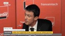 Manuel Valls souhaite supprimer le 49.3 ! - ZAPPING ACTU DU 15/12/2016