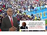 Voici les raisons de la suspension du championnat de la Linafoot par le ministre de Jeunesse, Sports et Loisirs Denis Kambayi