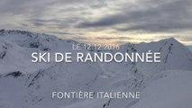Sortie ski de rando 12.12.2016, L'Enclause