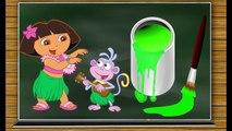 Los Colores en Español y Ingles para Niños - La Cancion de los Colores - Rondas Infantiles Dora