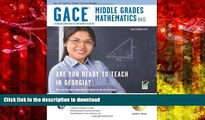 Pre Order Georgia GACE Middle Grades Math (013) w/ CD-ROM (Georgia GACE Test Preparation) Full