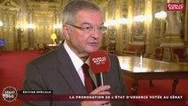 """Prorogation de l'état d'urgence - """"Le Sénat a toujours été au rendez-vous"""" affirme Michel Mercier"""